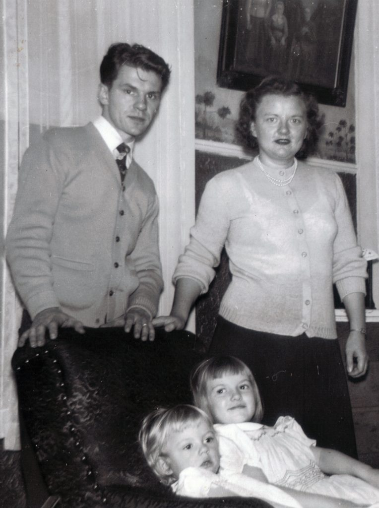 Stanley, Natalie, Linda and Susan Brown, Reading, PA, 1953